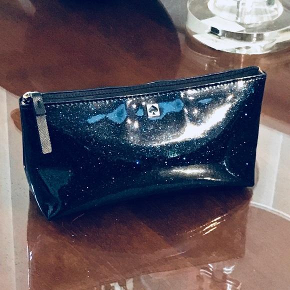 ba0ca57420 kate spade Handbags - Kate Spade Sparkle Midnight Offshore Cosmetic Bag